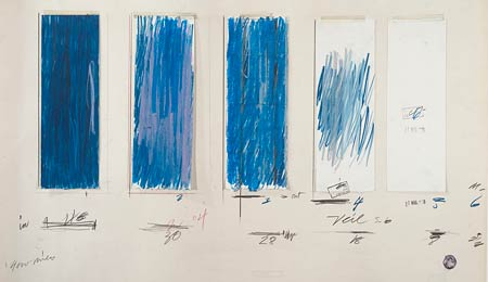 Cy Twombly: Treatise on the Veil